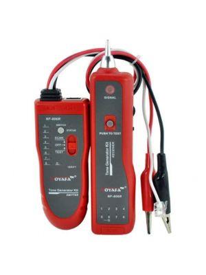Testeur de câble, traqueur de fil NF-806R traqueur de fil  réseau RJ45- RJ11 avec pince